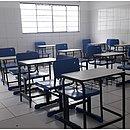 Salas vazias no primeiro dia de retomada das aulas presenciais em Brumado