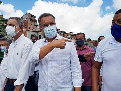Bahia terá medidas restritivas novamente, anuncia Rui Costa