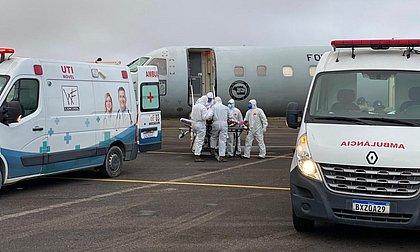 Pacientes foram transferidos para várias cidades, como Brasília, após colapso