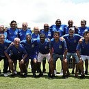 Jogadores campeões brasileiros em 1988 estiveram no Fazendão nesta segunda (18)