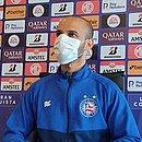 'Expectativa é muito boa', disse Thaciano sobre duelo contra o Independiente