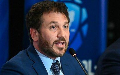 Presidente da Conmebol, Alejandro Dominguez explica mudança de sede e devolução de ingressos da Libertadores