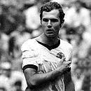 Beckenbauer jogou com tipoia na Copa de 70