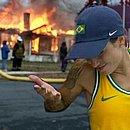 Letícia mostrou-se uma grande entusiasta do conceito de 'fogo no parquinho'