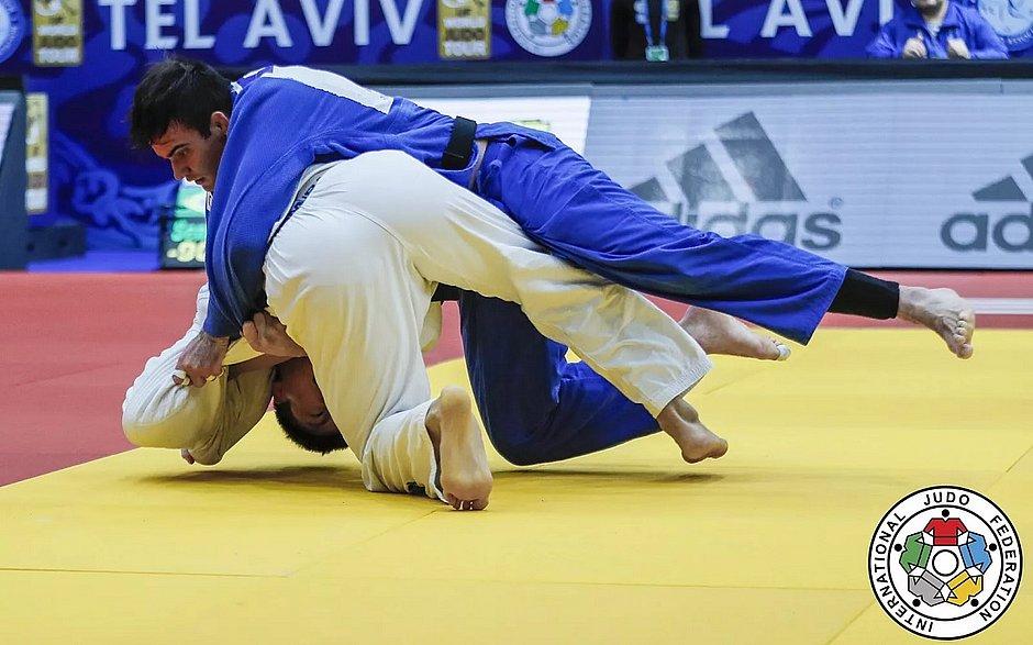 Judô brasileiro encerra participação no Grand Prix com 5 medalhas