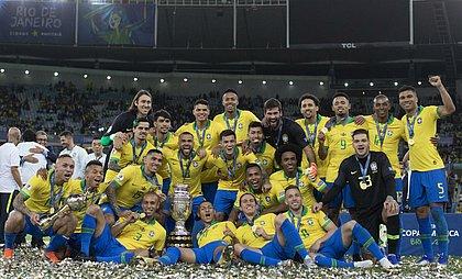 Seleção brasileira foi campeã da Copa América