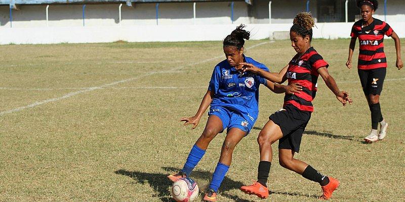 Vitória estreia no Baianão feminino com goleada de 8x0 no Galícia