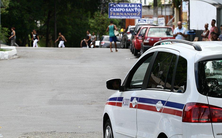 Salvador registra pelo menos um assalto por dia a taxistas em 2019