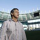 Osni na Arena Fonte Nova em 2013; no atual ou antigo estádio, ninguém fez mais gol que ele