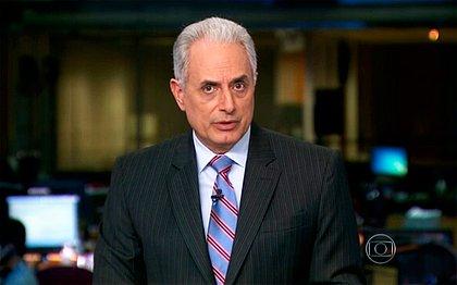 Waack já não apresenta o Jornal da Globo hoje