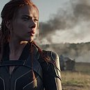 A atriz Scarlett Johansson como Natasha Romanoff, a Viúva Negra