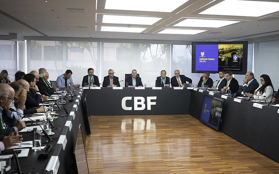 Conselho técnico da Série A, promovido pela CBF, teve a presença de representantes dos 20 clubes