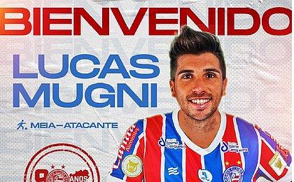 Lucas Mugni estava no futebol da Turquia e chega ao Bahia para ocupar o lugar deixado por Thaciano