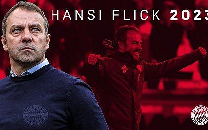 Bayern de Munique renova com técnico Hansi Flick até 2023