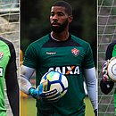 Caíque, Ronaldo e João Gabriel são os principais goleiros disponíveis para Claudio Tencati