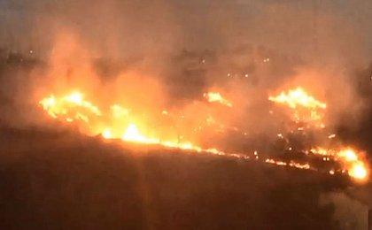 Incêndio no Imbuí foi provocado por obras de limpeza em terreno