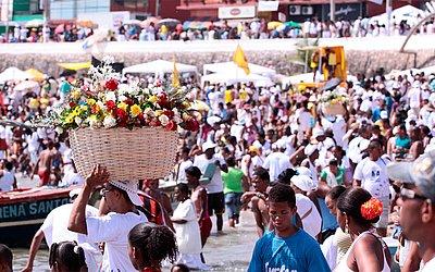 No 2 de Fevereiro, a tradicional festa de Iemanjá
