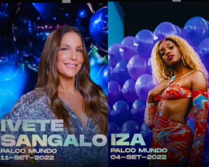 Rock in Rio 2022 anuncia Iza e Ivete Sangalo no Palco Mundo