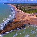 Praia da Costa Dourada, em Mucuri
