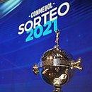 O troféu da Copa Libertadores