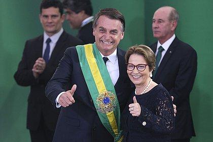 Tereza Cristina assume o Ministério da Agricultura