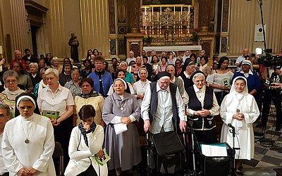 Freiras da congregação de Dulce