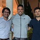 Guilherme Bellintani e Diego Cerri se reuniram com Ronaldo para negociar parceria com o Valladolid