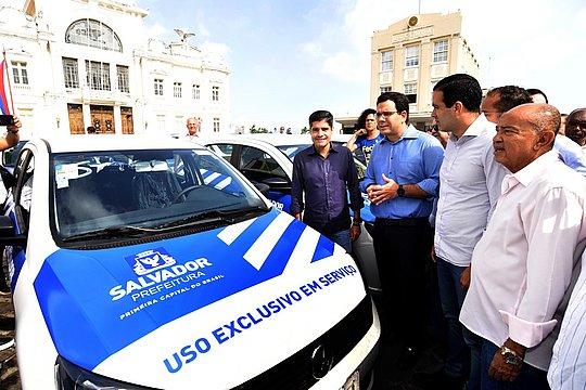 Nova frota da prefeitura vai gerar economia de R$ 2,2 milhões ao município