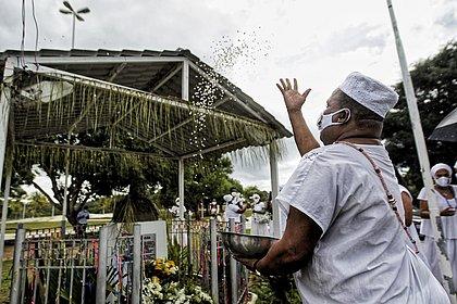 Ato na Lagoa do Abaeté marca Dia de Combate à Intolerância Religiosa