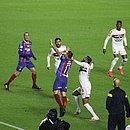Bahia teve boas chances para vencer o São Paulo, mas levou o empate no fim