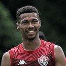 Wesley fez seu primeiro gol como profissional no Vitória
