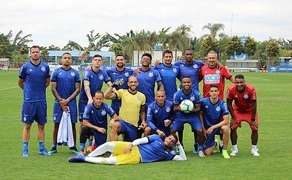 Gilberto treina e Bahia está pronto para enfrentar o Atlético-MG