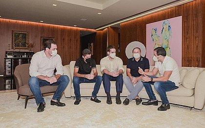 Com Eduardo Leite, João Gualberto debate projetos para a eleição 2022