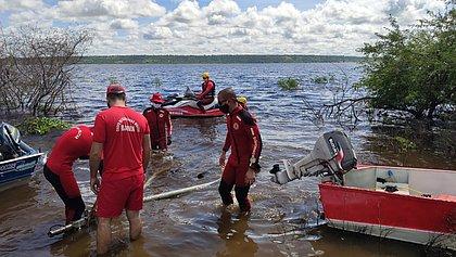 Bombeiros encontram corpos de criança e adolescente no Rio Paraguaçu