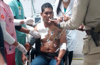 Sargento é baleado enquanto passava de carro por São Cristóvão, em Salvador