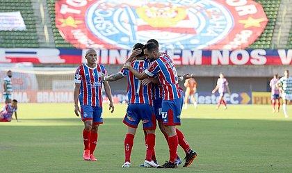 Tricolor fez jogo seguro e goleou o Altos, em Pituaçu, pela Copa do Nordeste