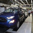 Ecosport era um dos veículos produzidos pela Ford na Bahia
