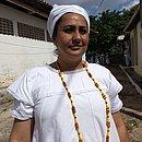 Priscila viajou 13 horas de João Pessoa para Nazaré e depois, de ferry boat para Salvador com o corpo de Mãe Stella
