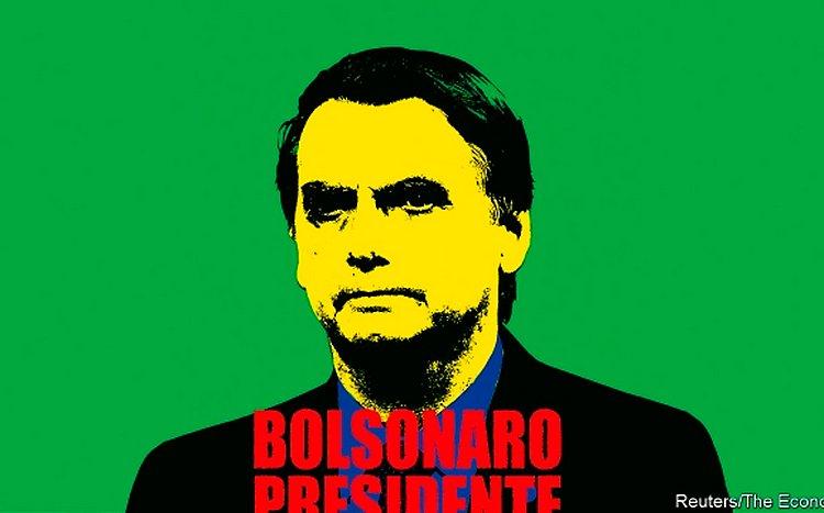 Bolsonaro é 'última ameaça da América Latina', diz 'The Economist'