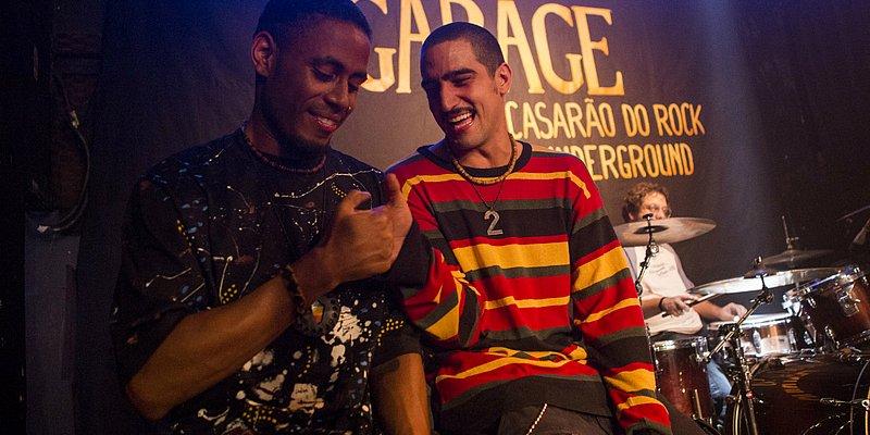 Filme Legalize Já celebra música e amizade de Marcelo D2 com Skunk
