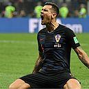 Croatas conseguiram a virada de forma heroica, no segundo tempo da prorrogação