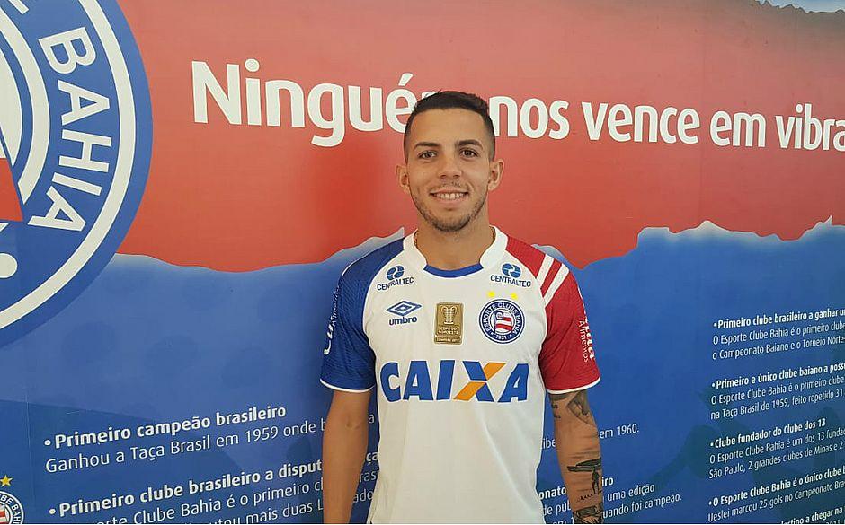 363d5b28563a3 Flávio foi a primeira contratação para o time sub-23 do Bahia (Divulgação   EC  Bahia)
