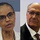Marina Silva e Geraldo Alckmin tiveram fraco desempenho nas eleições
