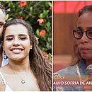 Mãe de Alinne Araújo comenta depressão da filha