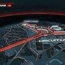 Projeção do futuro circuito de Hanói, no Vietnã