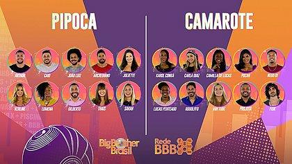 Big Brother Brasil 21 anuncia participantes do reality; confira os nomes