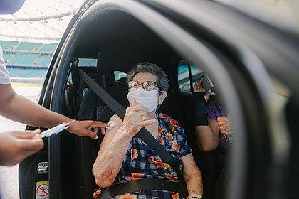 Brasil tem 34,83% da população com a vacinação completa contra o coronavírus