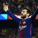 Messi jogou com Neymar no Barcelona de 2013 a 2017