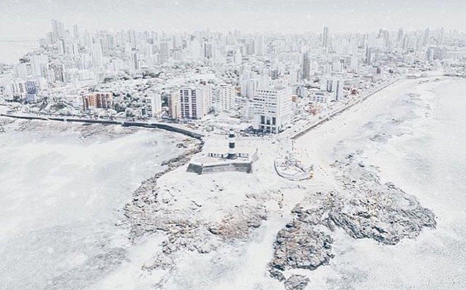 Em dia mais frio do ano, Salvador tem sensação térmica de 17,5ºC: 'E pode piorar'