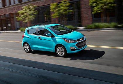 O Spark é o carro zero quilômetro mais barato à venda nos Estados Unidos. Na versão LS, o compacto da Chevrolet custa o equivalente a R$ 87.546